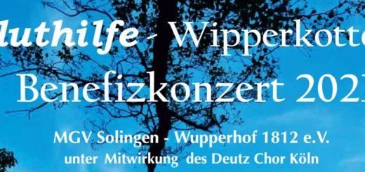 Wupperhofer Benefitzkonzert Fluthilfe-Wipperkotten